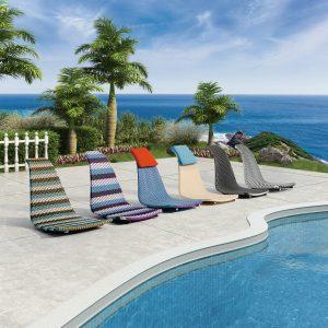 Beach chair and Lounge series